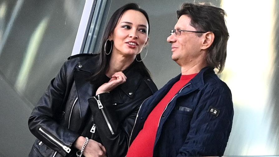 Зарема Салихова и председатель совета директор ФК «Спартак» Леонид Федун, 10 мая 2021 года
