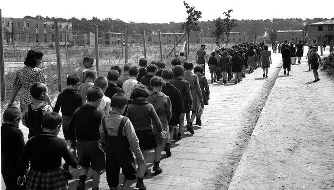 Дети в немецком лагере, 27 мая 1947 года