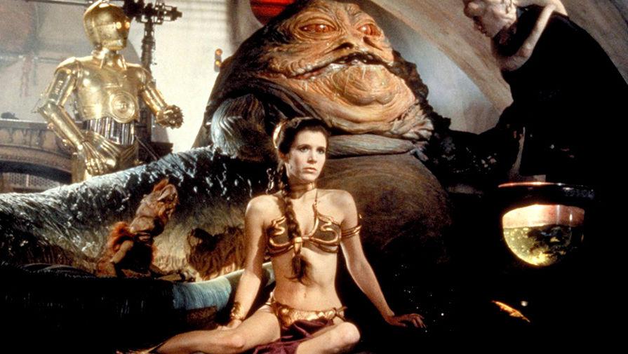 Новости Звездных Войн (Star Wars news): Почему Кэрри Фишер ненавидела культовый золотой купальник принцессы Леи