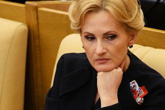 Вице-спикер Госдумы Ирина Яровая