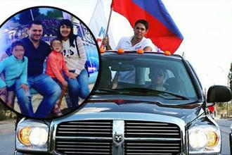 Виновник аварии Ренат Булатов и погибшая в ДТП семья (коллаж)