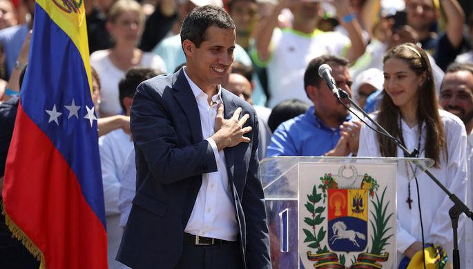 Румыния признала Гуайдо президентом Венесуэлы