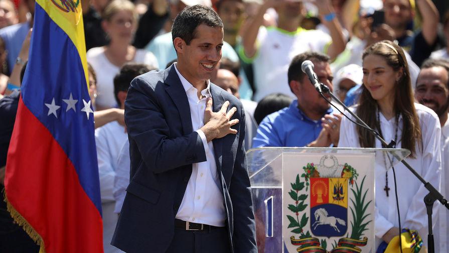 Гуйадо рассказал, как ему помогли военные Венесуэлы