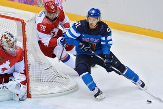 Нападающий «Йокерита» и сборной Финляндии Антти Пильстрем