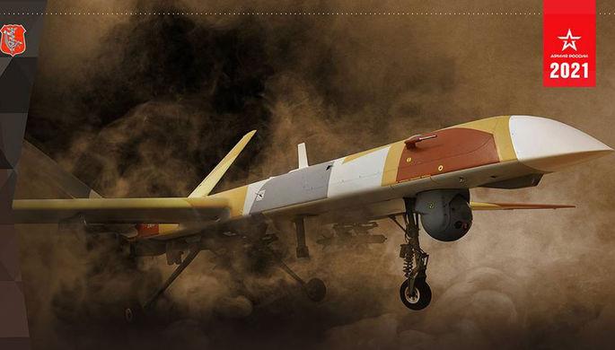 Беспилотник с авиабомбами: Минобороны показало «Орион»