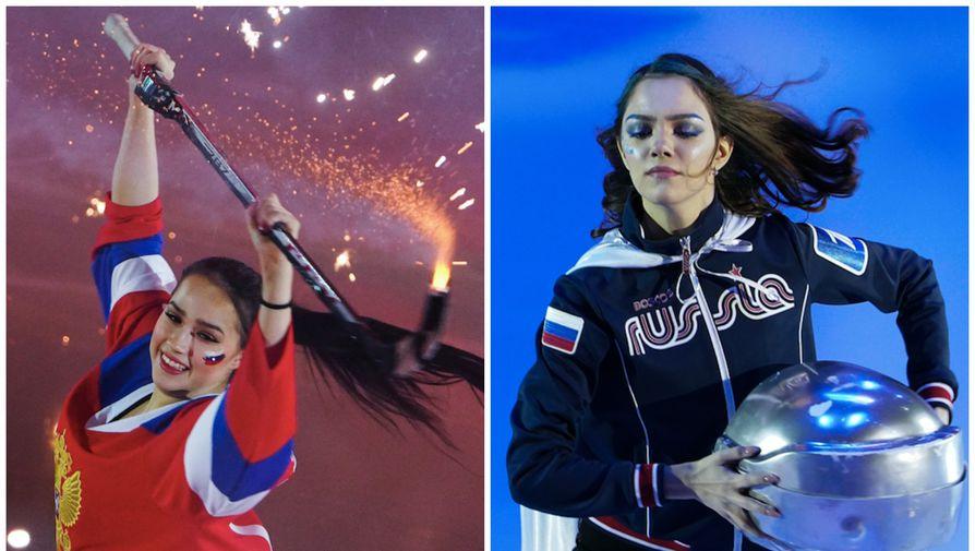 Алина Загитова и Евгения Медведева