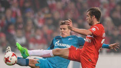 «Зенит» проводит Кержакова перед матчем со «Спартаком»