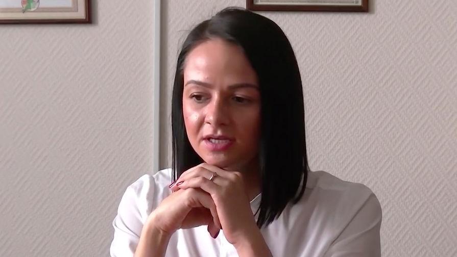 Директор областного департамента молодежной политики Ольга Глацких