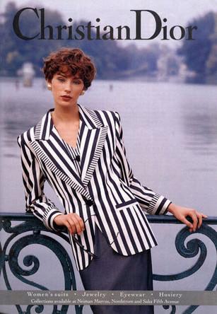 Ольга Пантюшенкова в рекламе Christian Dior
