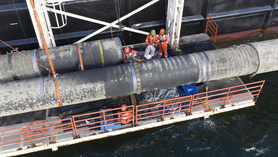Эксперт назвал сроки завершения строительства Северного потока  2