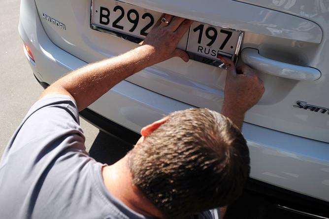 Кражу автомобильных номеров пропишут в уголовном кодексе