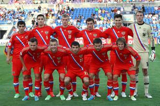 Молодежная сборная России перед матчем с Германией