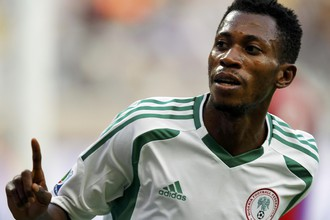 Намди Одуамади — автор хет-трика в матче со сборной Нигерии