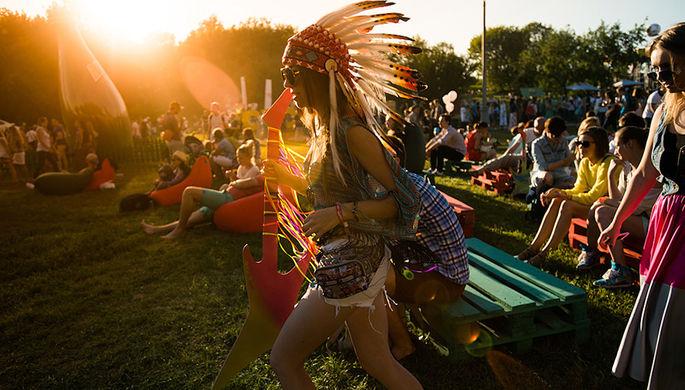На фестивале Пикник «Афиши»