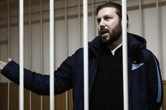 Священник Глеб Грозовский, обвиняемый в педофилии, во время оглашения приговора в Приозерском городском суде Ленинградской области