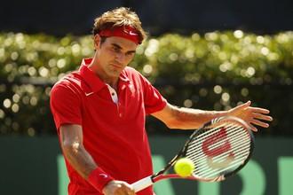 Роже Федерер впервые за восемь лет опустился ниже третьего место в рейтинге ATP