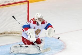 Голкипер олимпийской сборной России