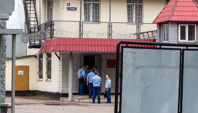 Территория исправительной колонии №1 Ярославля после обнародования сведений о пытках, 21 июля 2018...