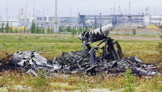 На месте крушения вертолета Ми-8 в Красноярском крае, 4 августа 2018 года