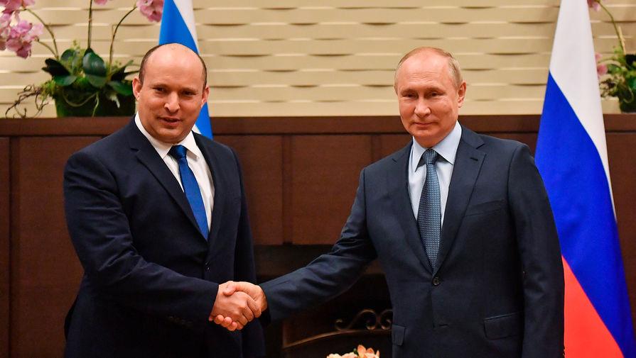 Премьер-министр Израиля назвал встречу с Путиным великолепной