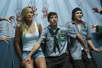Кадр из фильма «Скауты против зомби»