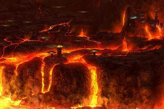 Огненный мир Мустафар