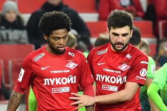 Георгий Джикия (справа) и Луиз Адриано