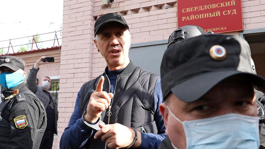 Сидящий в СИЗО красноярский бизнесмен Быков намерен участвовать в выборах в ГД