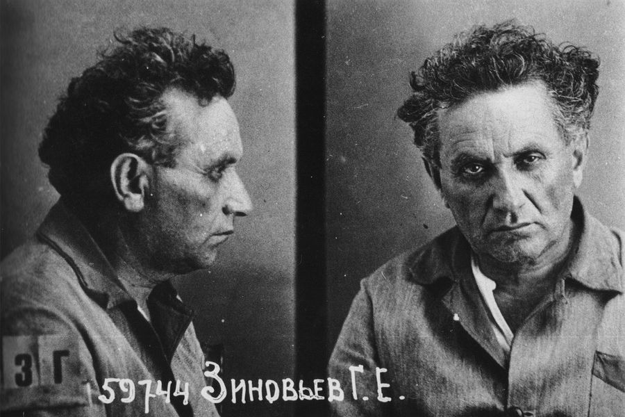 Григорий Зиновьев после ареста в1934 году