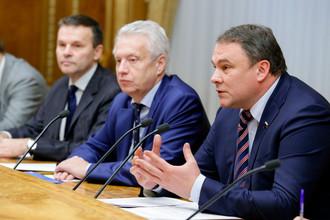 Петр Толстой, глава российской делегации ПА ОБСЕ