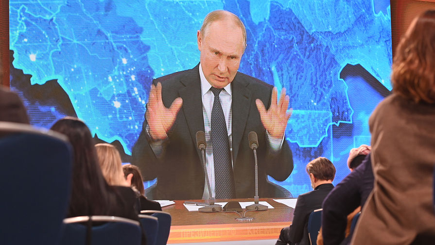 Путин заявил, что в мире уже идет гонка вооружений