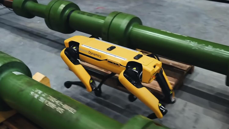 Робот Spot производства компании Boston Dynamics