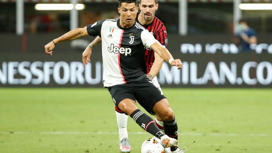 Эпизод матча «Милан»- «Ювентус»