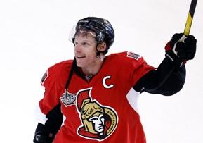 Даниэль Альфредссон забросил 400-ю шайбу в НХЛ