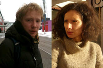 Евгений Григорьев и Анна Селянина