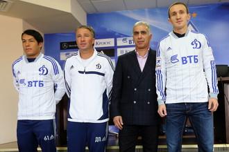 Новички «Динамо» с Даном Петреску и Гурамом Аджоевым