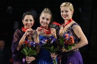 Елизавета Туктамышева, Елена Радионова и Грейси Голд