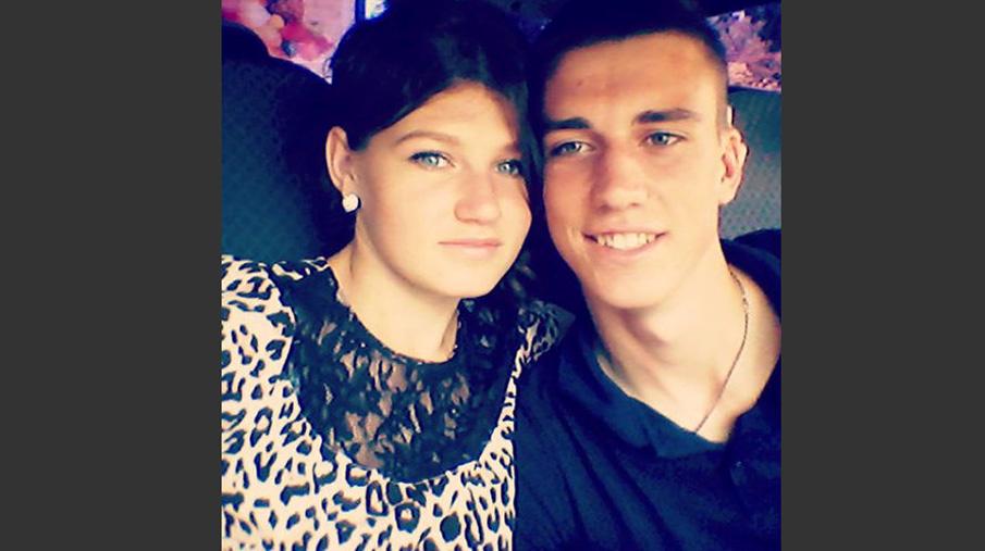 Вадим Костенко с любимой девушкой