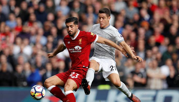 Эпизод матча «Ливерпуль» — «Манчестер Юнайтед»