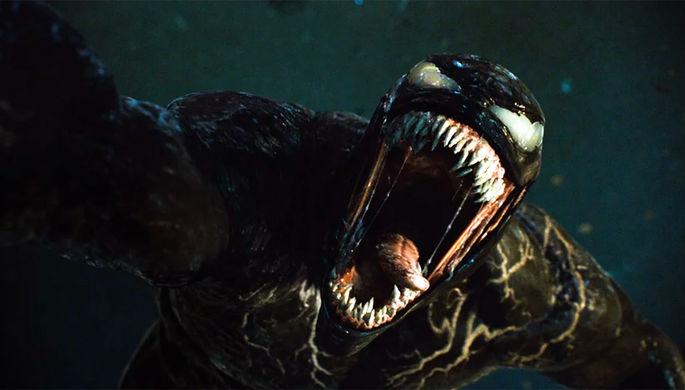 Кадр из фильма «Веном 2» (2021)