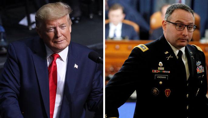 Месть за импичмент: Трамп уволил офицера СНБ