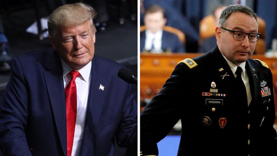 Трамп уволил подполковника Совета нацбезопасности Виндмана