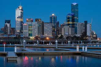 Docklands (Мельбурн, Австралия). Здесь появились открытые пространства и скверы для прогулок, велосипедные и пешеходные дорожки