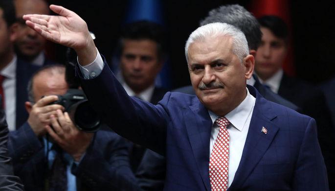 Новый премьер-министр Турции Бинали Йылдырым