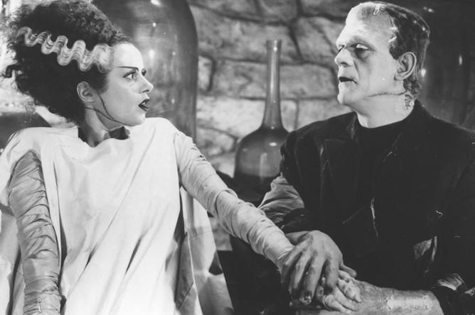 Кадр из фильма «Невеста Франкенштейна» (1935)