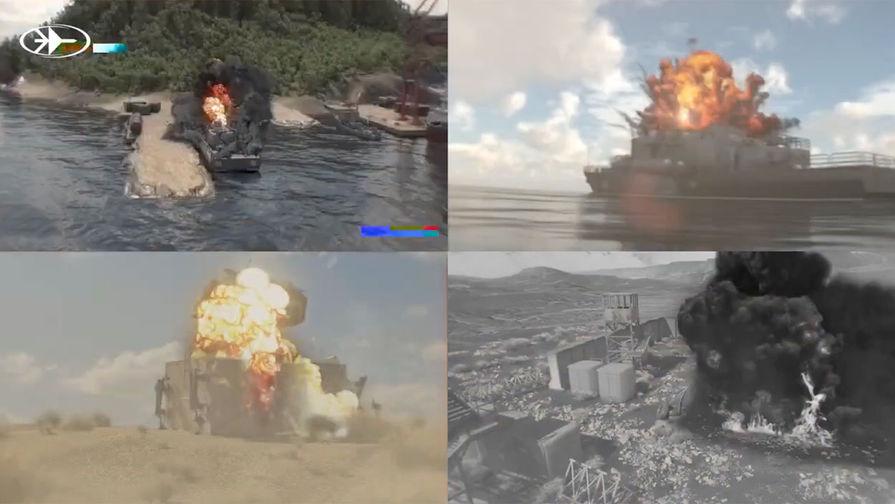 В Израиле опубликовали видео с уничтожением российского ракетного катера