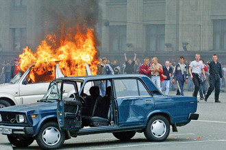Беспорядки на Манежной площади являются самыми массовыми и разрушительными в российской истории на данный момент