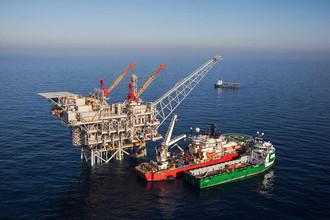 Газовое месторождение Tamar в Средиземном море