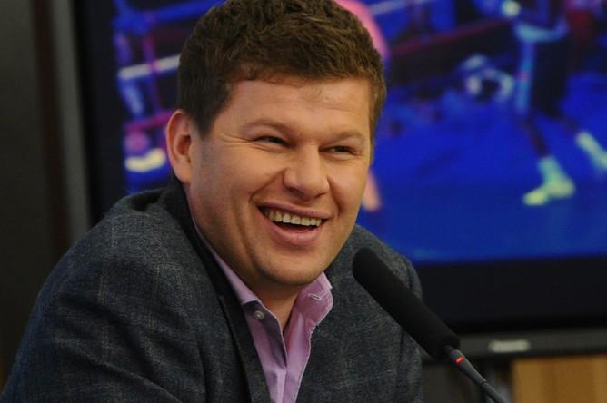 Телеведущий и комментатор Дмитрий Губерниев
