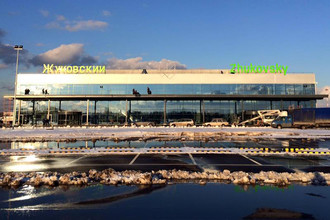 Новый терминал аэропорта Жуковский в феврале 2016 года